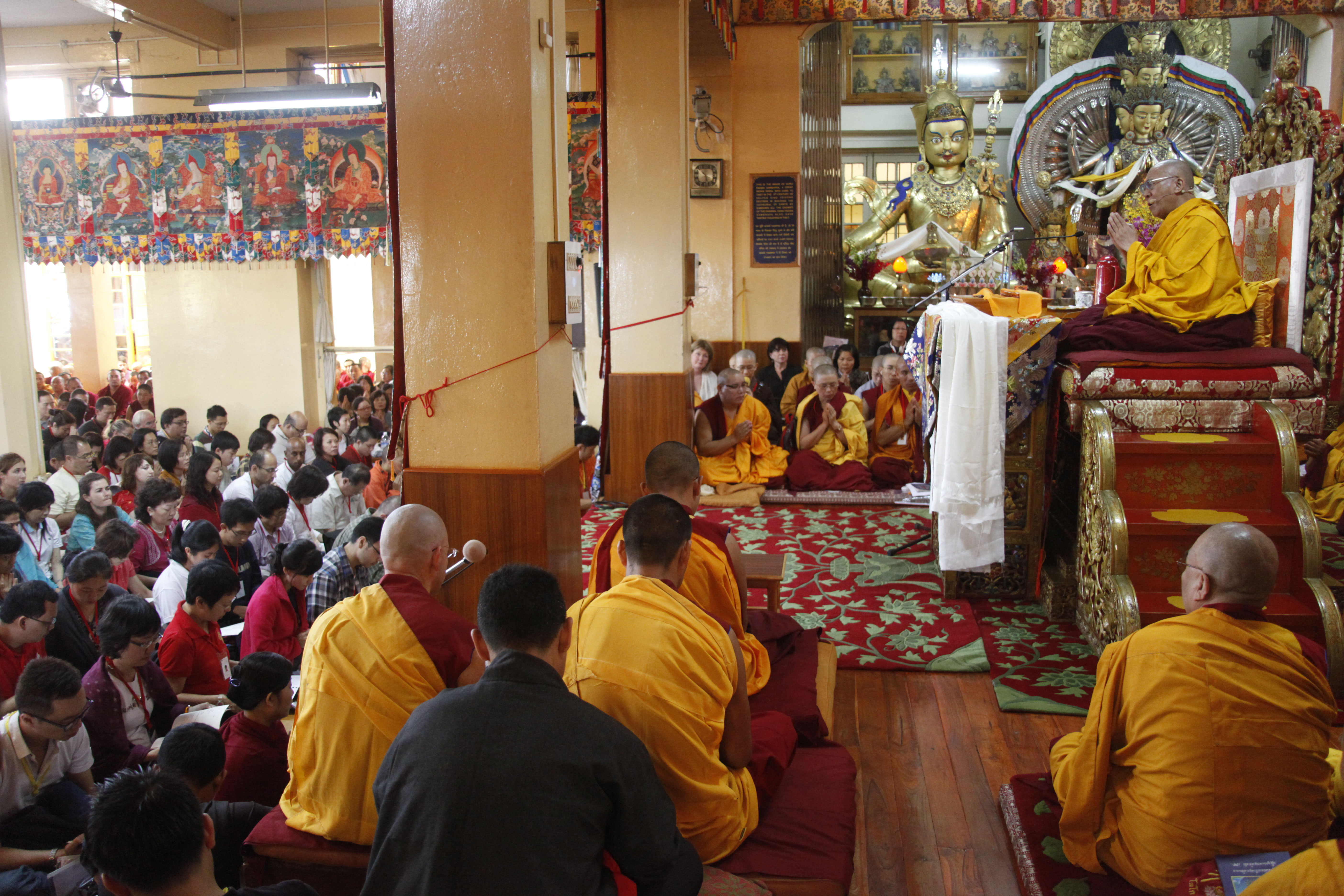 His Holiness the Dalai Lama Imparts Three Days Teachings to South