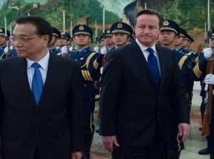 David Cameron and Chinese  Premier Li Keqiang Photo: PA